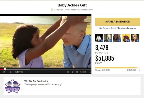 Baby Ackles Fundraiser